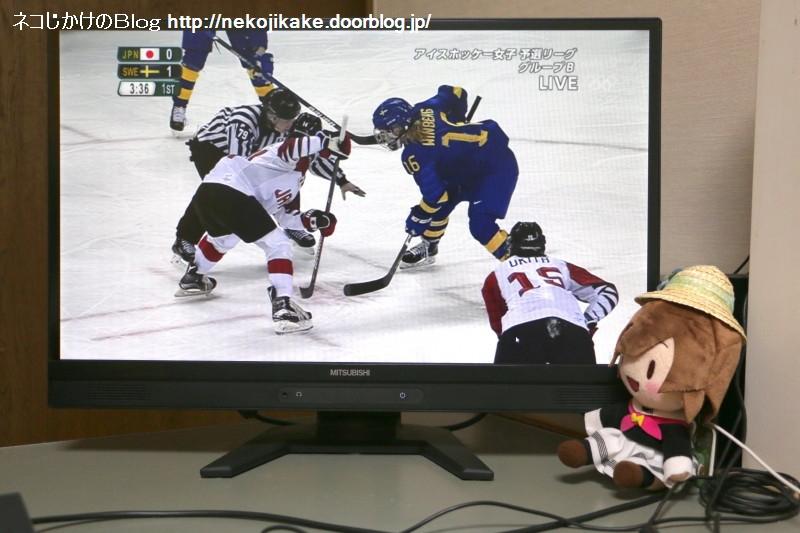 2018021003平昌五輪 アイスホッケー女子 日本vsスウェーデン。2
