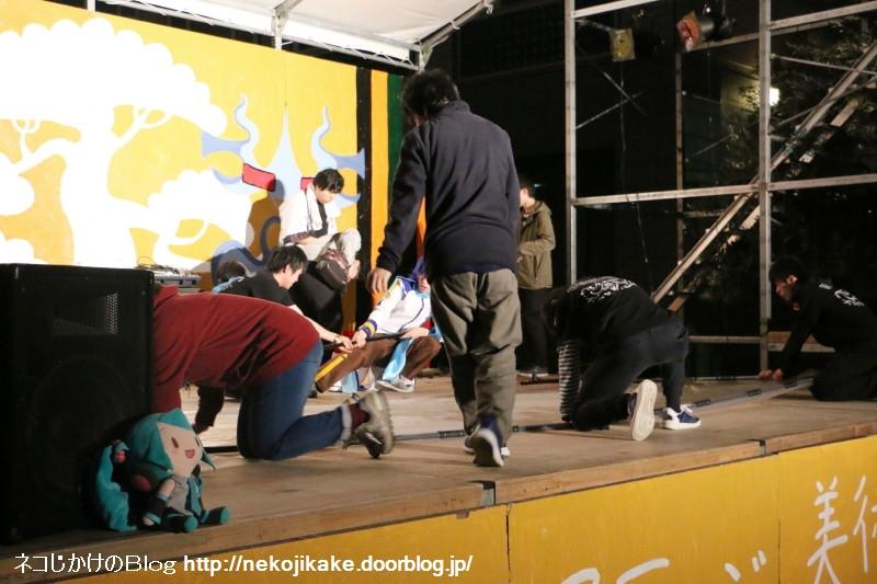 2017110309初音ミクプロジェクションライブ@ 大阪市立大学。6