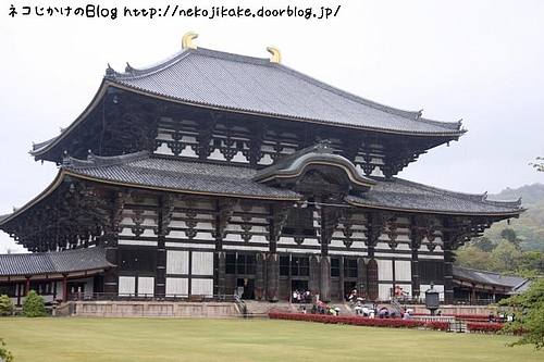 東大寺大仏殿。