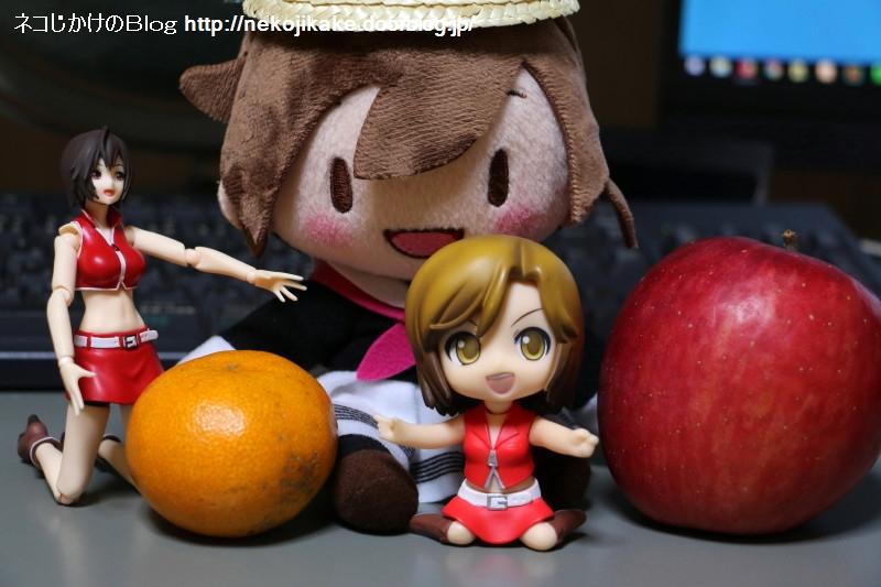 2017111505リンゴとミカン。3