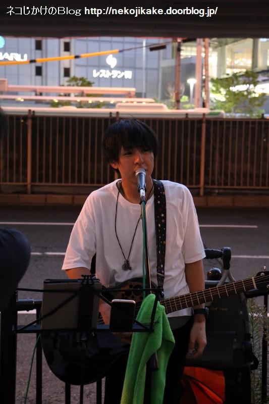 2017081809ハヤシケイ路上ライブ2017 in大阪。2