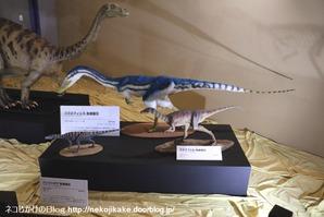 2017073014メガ恐竜展201@ 大阪南港ATCホール。12