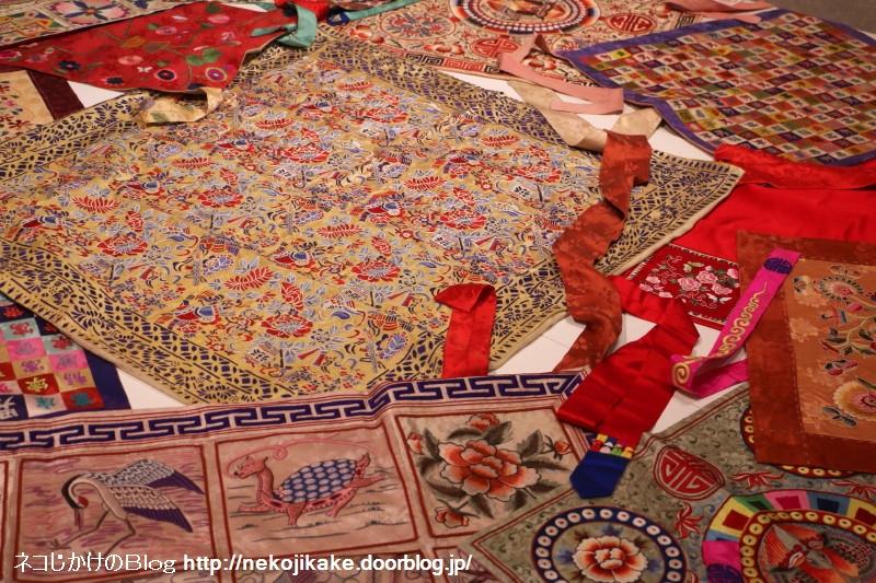2018022215張英蘭 韓国刺繍コレクション展。6
