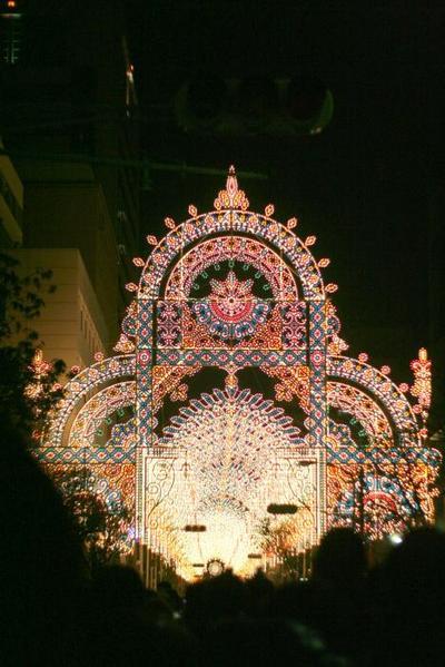 神戸ルミナリエ。その2