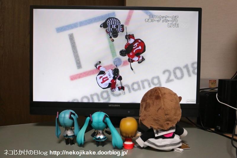 2018021206平昌五輪アイスホッケー女子 予選リーグ 日本vsスイス。2