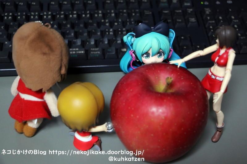 2020102305りんご食べよっか。3
