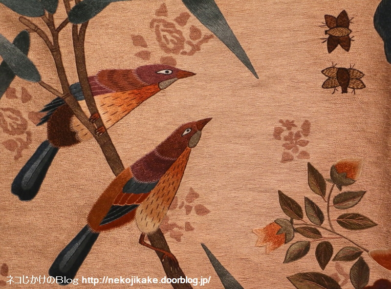 2018022213張英蘭 韓国刺繍コレクション展。4