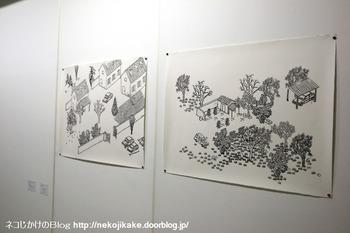 2018102007ブノワ・ブロワザ展@ギャラリーヤマキファインアート。5