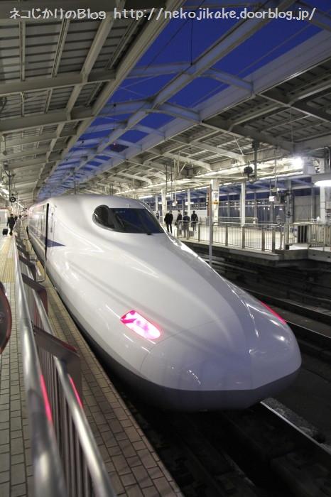 N700系新幹線。