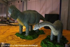 2017073023メガ恐竜展201@ 大阪南港ATCホール。21