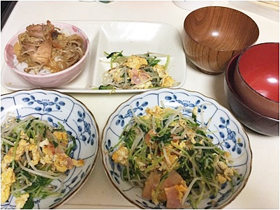 page夕食