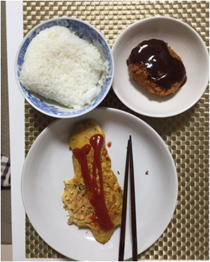 おとん夕食