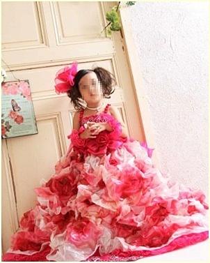pagenanaちゃんドレス
