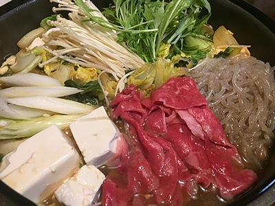 pageすき焼き