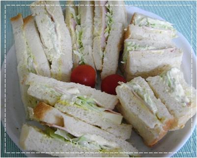 pageサンドイッチ
