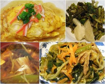 page天津飯4種