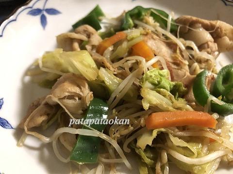 野菜炒めIMG_7509