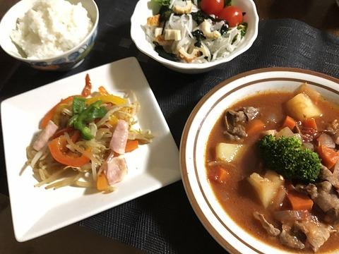 夕食IMG_2906