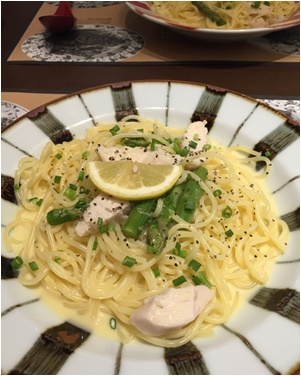 pageパスタ