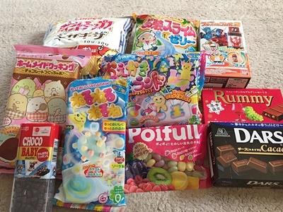 pageお菓子