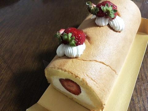 ケーキ斜め