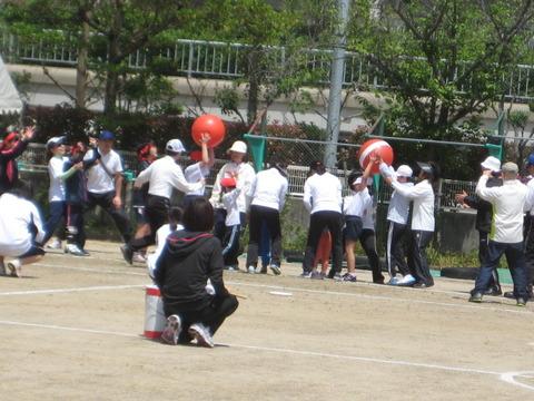 盲学校の運動会に行ってきました。