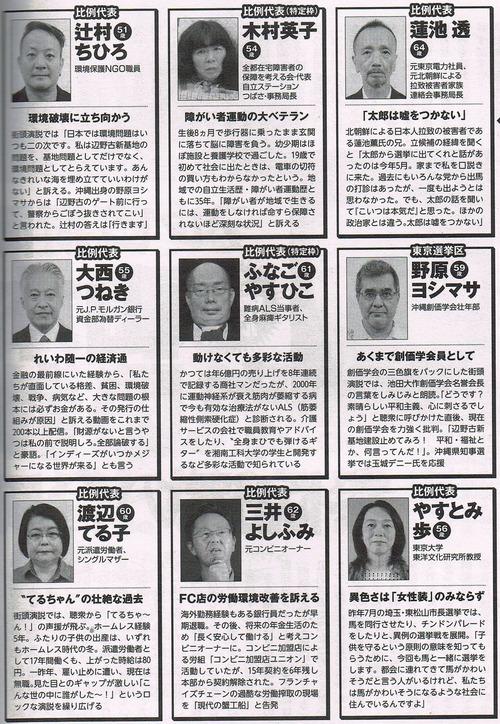 reiwa candidates