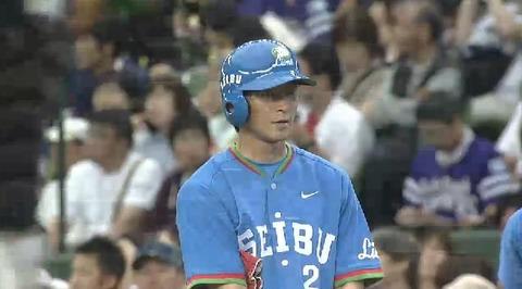 2回裏3金子ヒット満塁 (1)