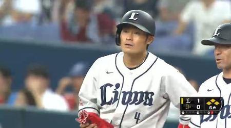 6回表2鬼崎ヒット満塁 (2)