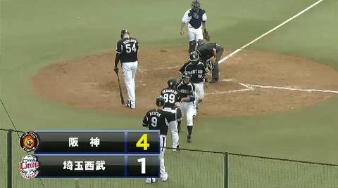 5回表2藤井フォア緒方3ラン (4)