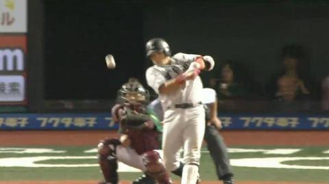 5回表2秋山林崎ヒット1塁3塁 (3)