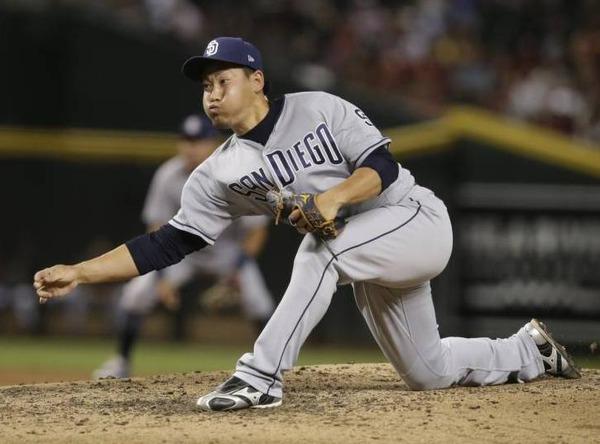【MLB】牧田和久、2回7失点ピシャリ