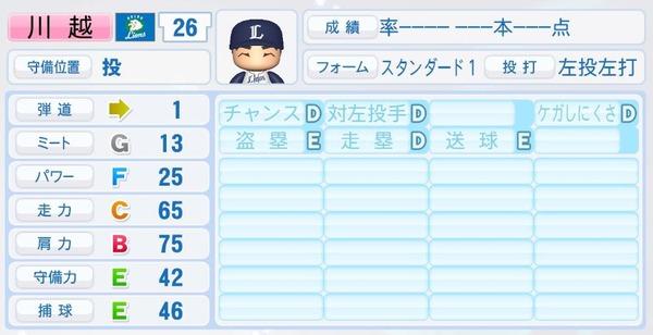 【パワプロ2018】野手能力が高い実在投手