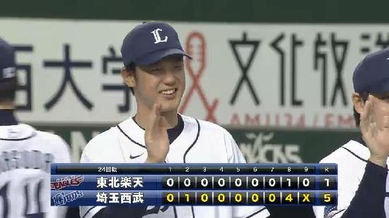 9回表1増田西武4連勝 (7)