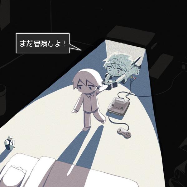 彡(^)(^)「このゲーム面白いなぁ、でももう寝る時間やな」テレビ「…」彡(゚)(゚)「?」