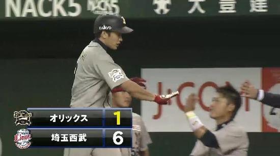 3回表1フォアボール・ヒット満塁 安達犠飛 (3)