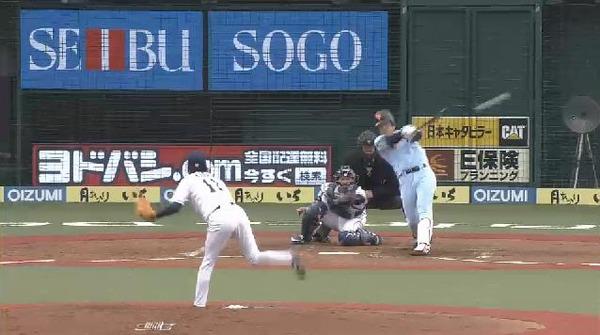 5回表1太田岡本の連打で失点 (2)