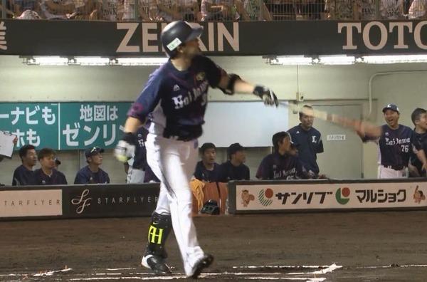 【西武】浅村栄斗、確信歩き!