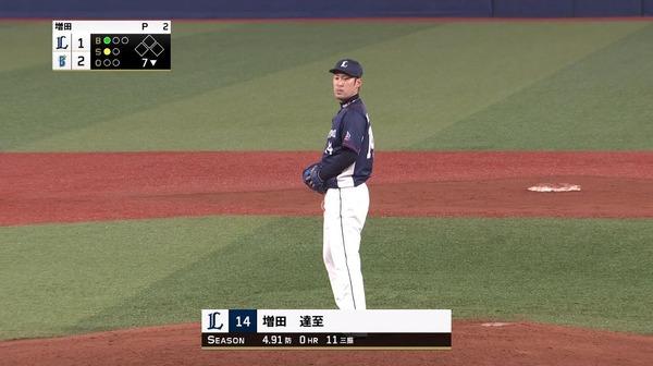 【西武】増田、抑え剥奪