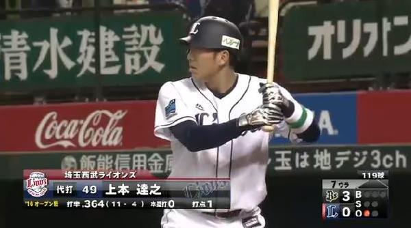 7回裏1上本ヒット (1)