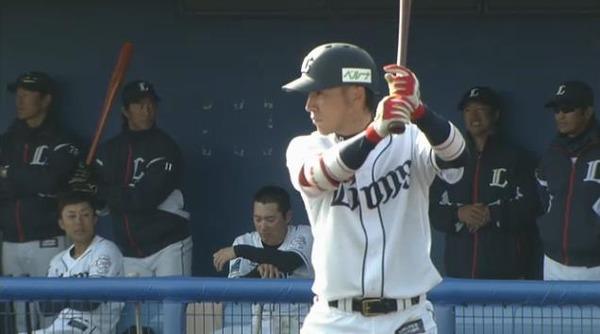 9回裏2駒月フォアボール1塁2塁木村昇吾タイムリー (1)