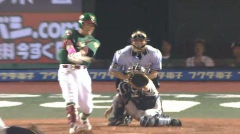 5回裏3松井ヒット満塁 (2)