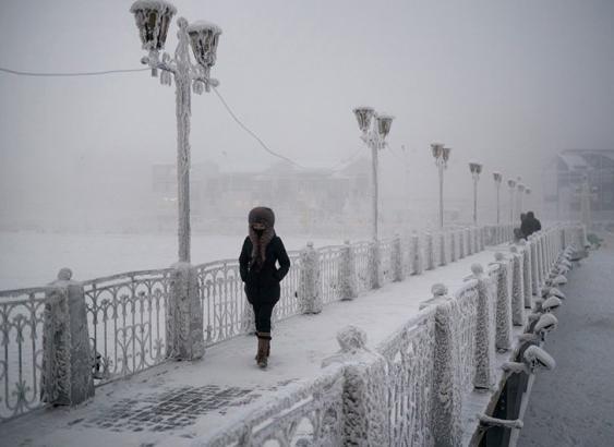 ロシア 寒い