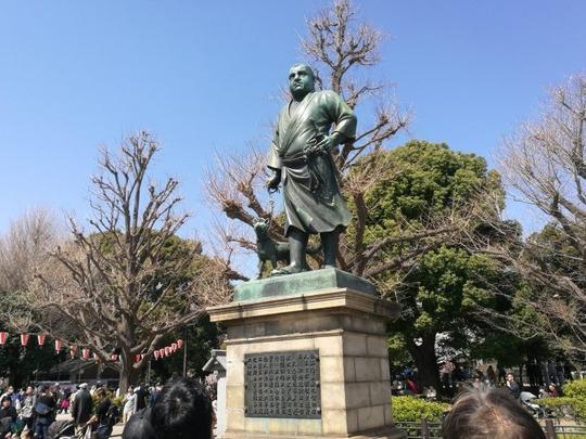 上野公園 西郷さん