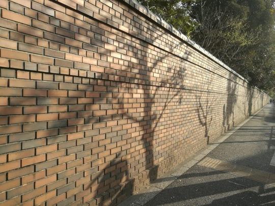 六義園 外壁