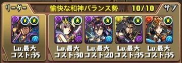 タケミカヅチ降臨挑戦パーティ9