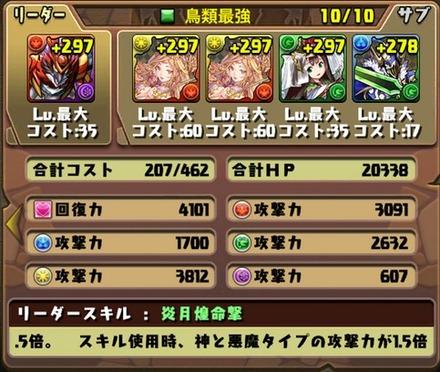 ゼローグ∞降臨挑戦パーティ7