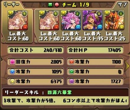 ゼローグ∞降臨挑戦パーティ11