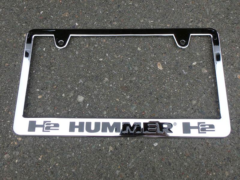 H2 Hummer Tag Frame