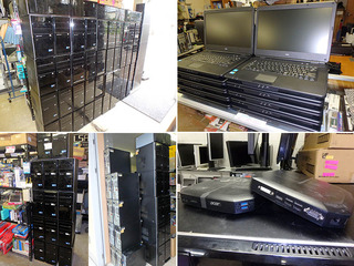パソコン100台買取